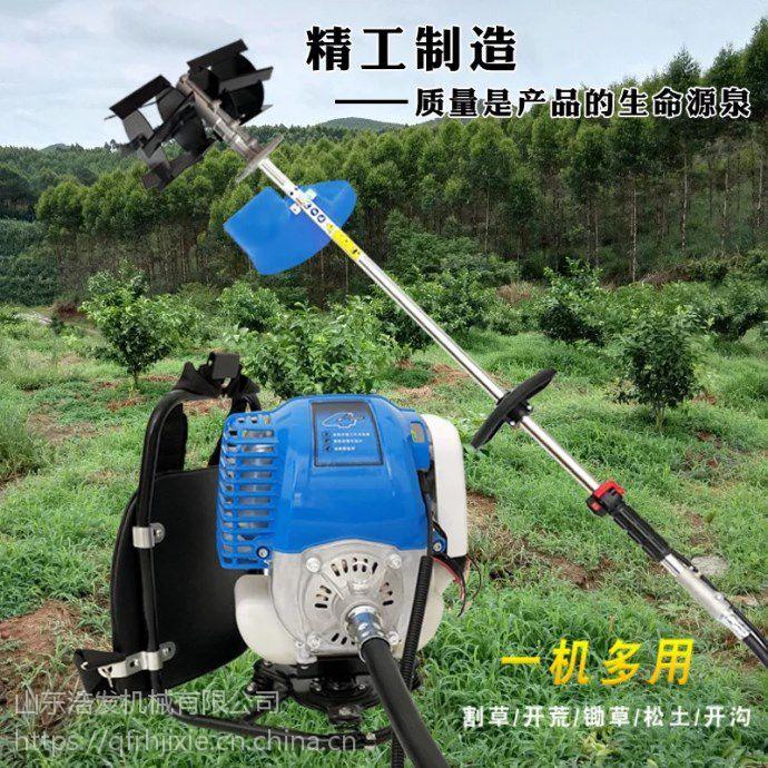 凤梨果园除草机 浩发小型汽油割灌机年中特惠