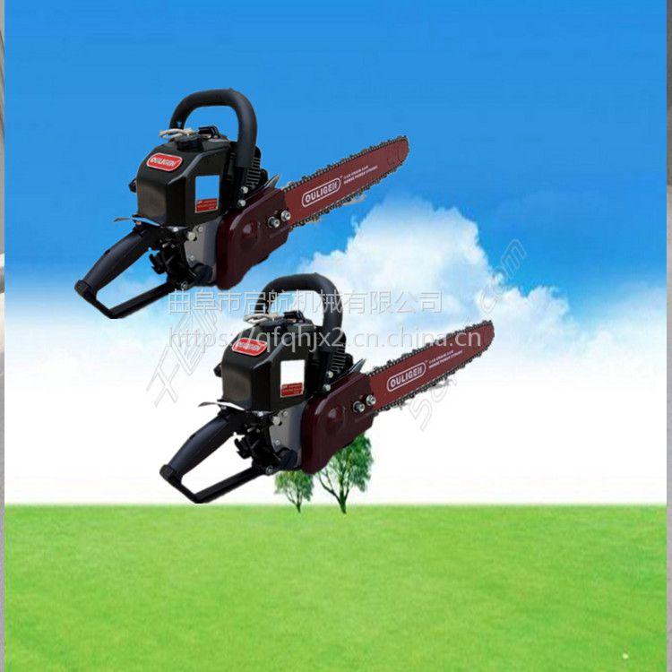 汽油大马力链式起树机 便携式挖树机 启航园林专用铲式挖苗机