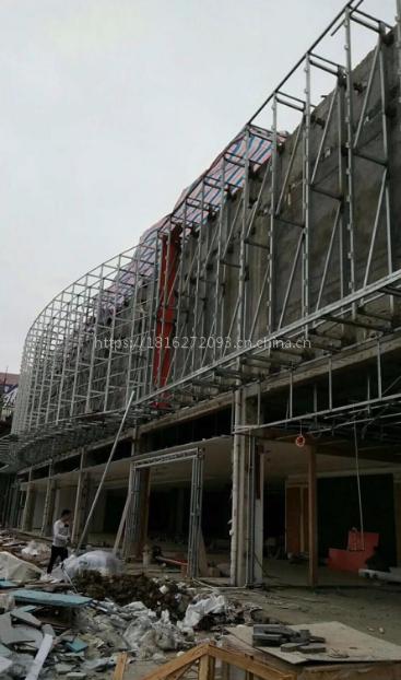 广东红旗4S店有孔铝蜂窝板 展厅包柱铝单板 厂家专业定做
