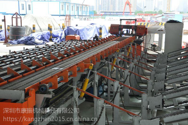 SKZ康振智能钢筋锯切机器人产品型号:KZJ500C 数控钢筋锯切线