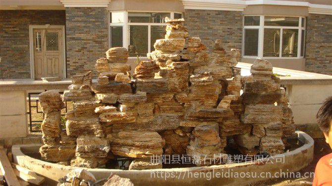 园林景观石雕塑假山石雕