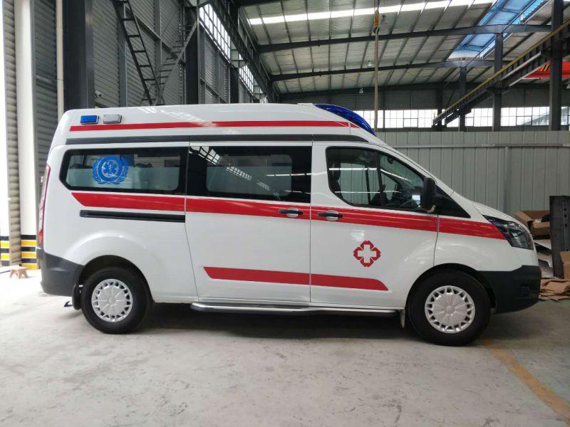 江铃福特短轴新全顺V362小型救护车