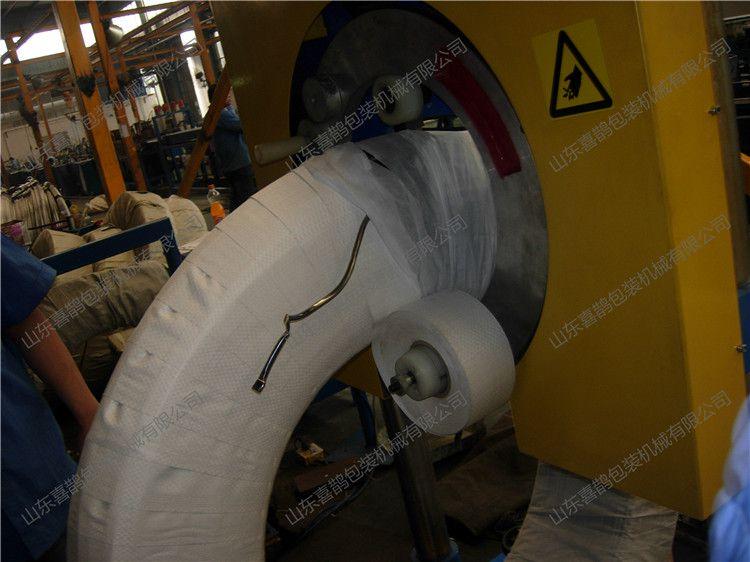 铁丝缠绕包装机 提高包装效率 包装美观大方 山东喜鹊厂家专业制造