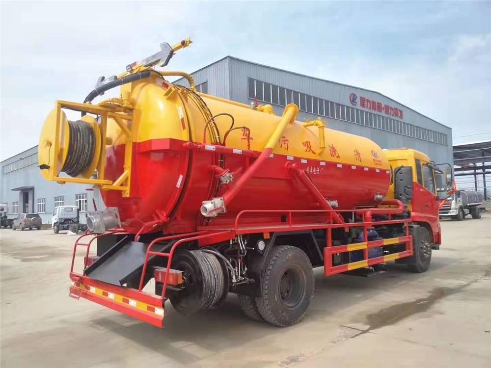 8吨下水道高压清洗车配置参数13872880037