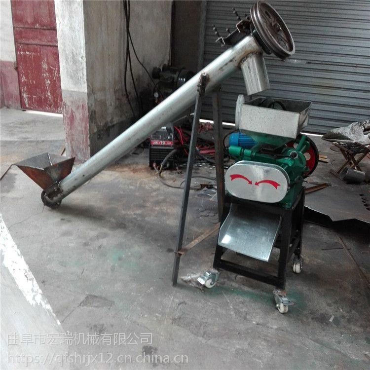 宏瑞生产花生破碎机 花生碎加工机械