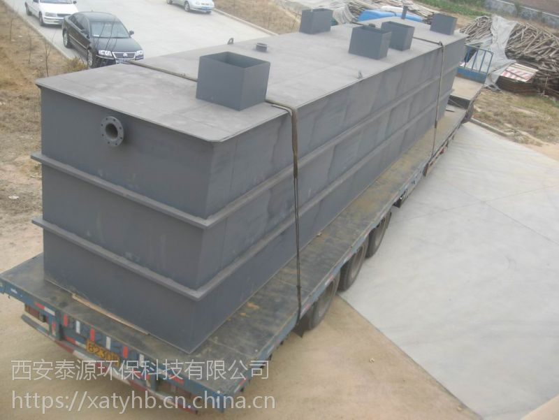 甘肃兰州玻璃钢式污水处理设备泰源环保直销供应品牌
