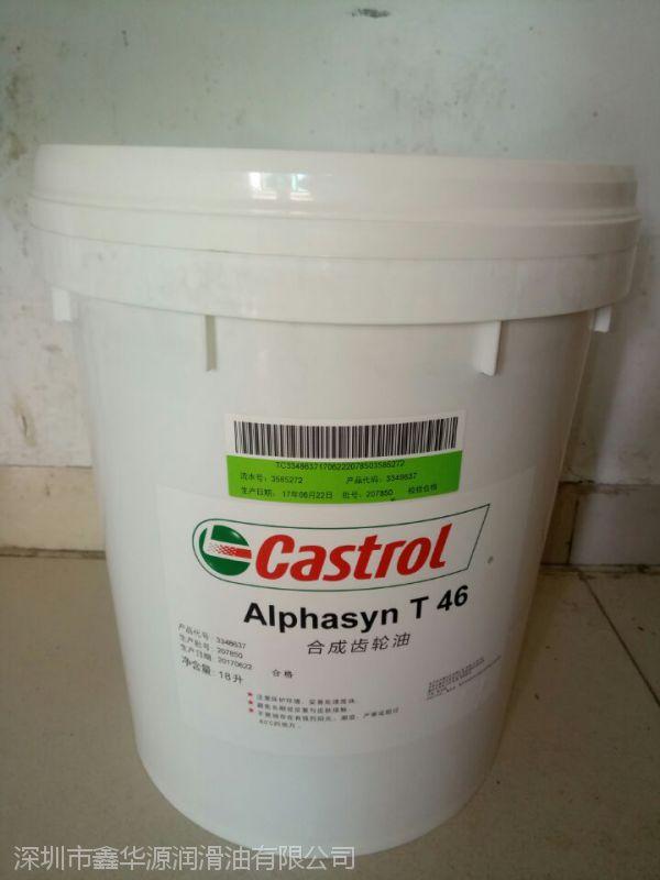 批发Castrol Alphasyn T 460 嘉实多合成齿轮油