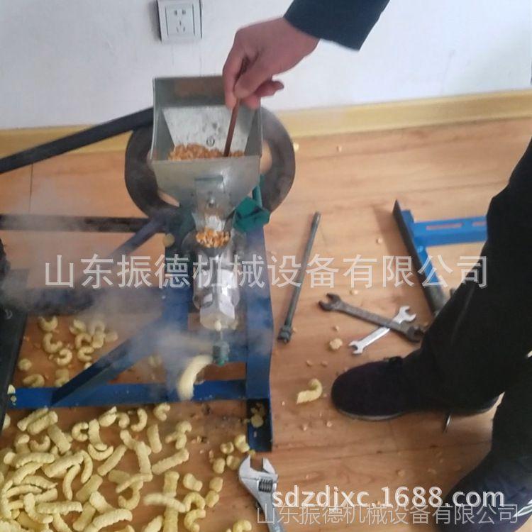 自产自销玉米膨化机 整粒大米江米棍机 振德 空心棒膨化机