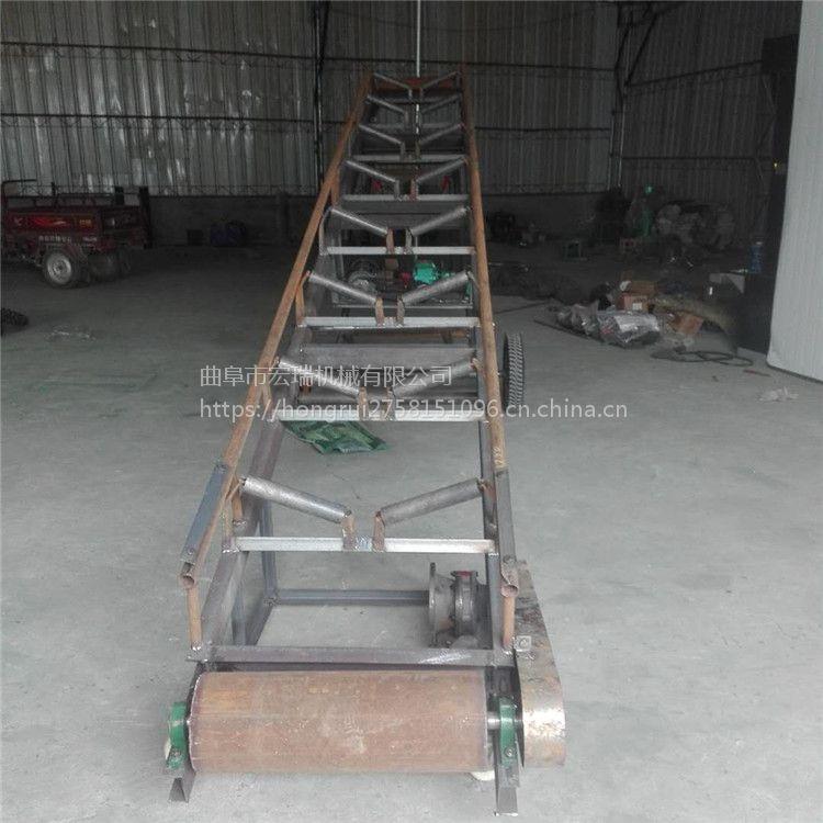 浩瑞厂家生产裙边挡条输送机定制
