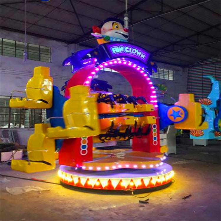 新型游乐场设备欢乐旋转hlxz10人外观新型造型独特游乐设备
