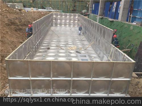 枣庄不锈钢消防水箱圆形水箱方形水箱地埋式水箱定制