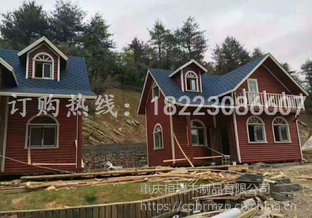 供应旅游景区独栋木屋加工定做 桓瑞轻型木屋修建厂家