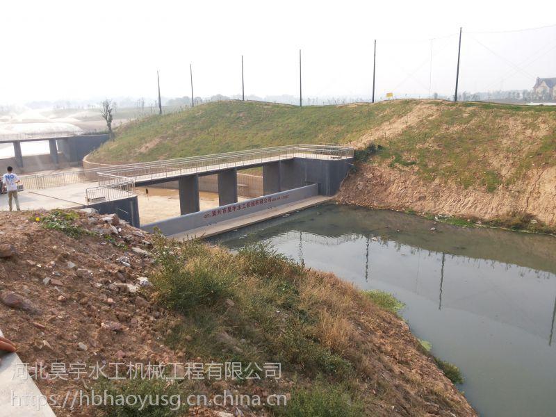 河北昊宇水工弧形钢坝闸门可跨大度运行厂家特卖