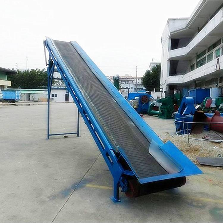 [都用]大米厂装卸车输送机 60公分宽十米长输送机多少钱