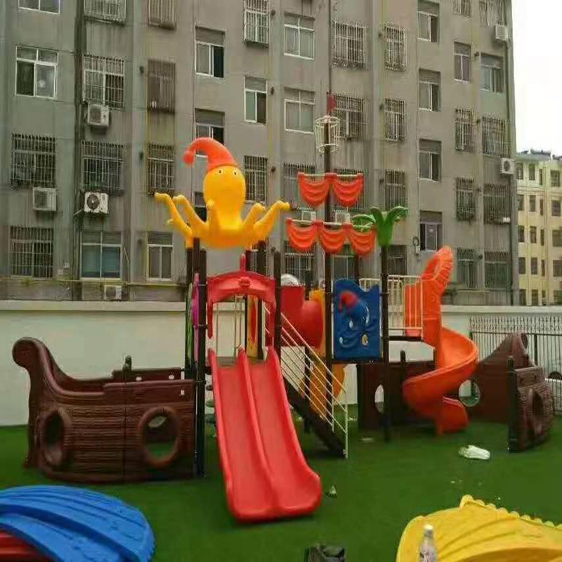 满洲里组合滑梯经销,儿童娱乐设施生产厂家,大厂家