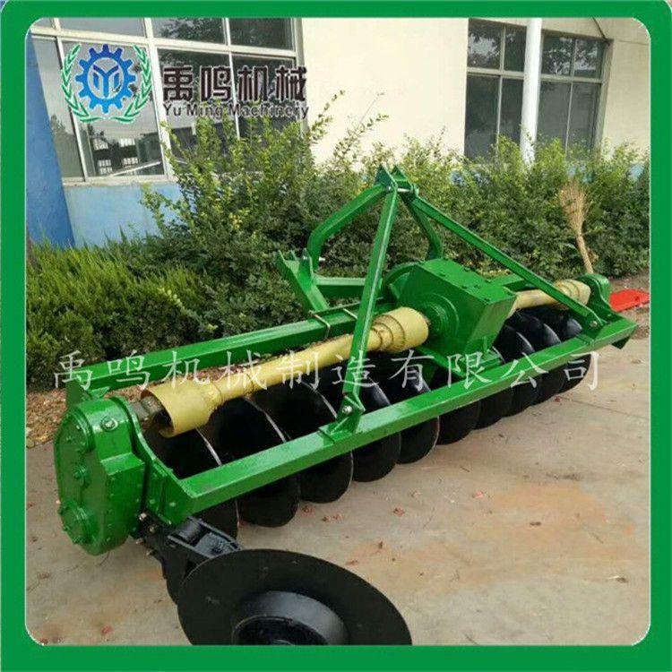方梁双传驱动圆盘犁水旱两用拖拉机耕地大犁耕种机械厂家直销