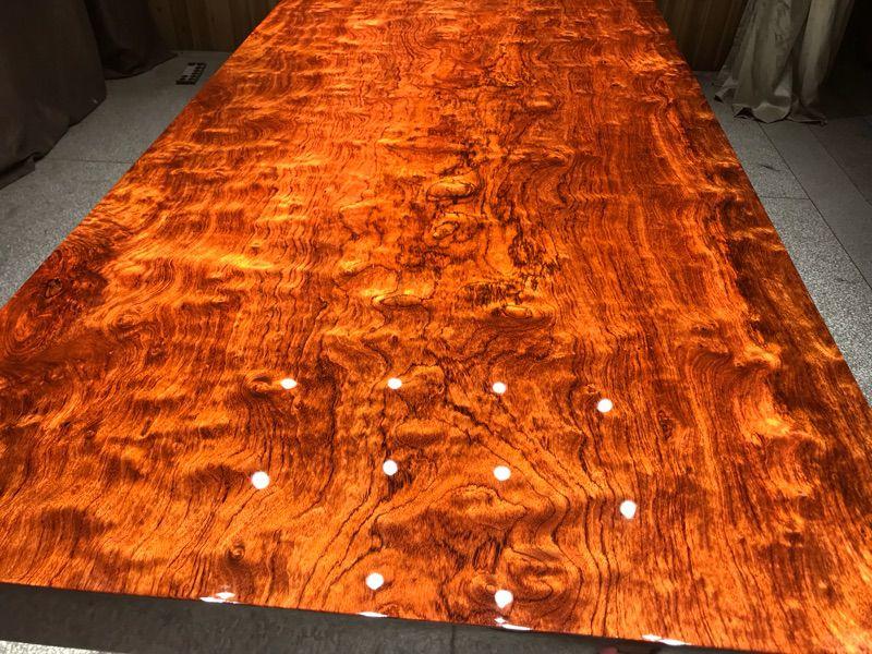 实木大板桌面,采用加蓬高山558年以上原木制作生产的实木大板桌面