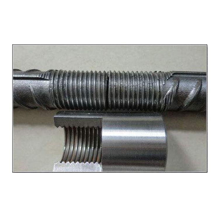 M16HRB400标准型直螺纹钢筋套筒 套筒加工厂 钢筋连接件