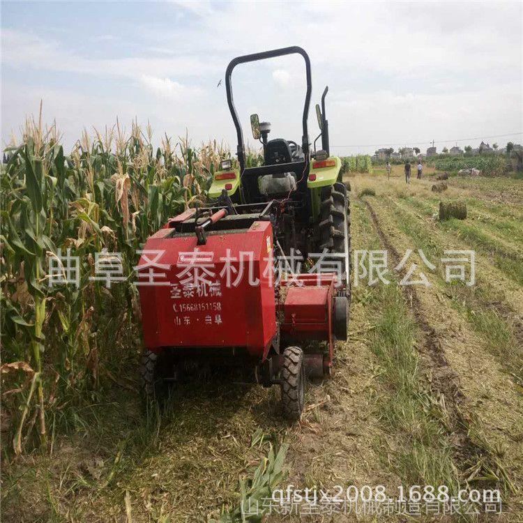 厂家供应行走式中型打捆机  农用多功能秸秆粉碎圆捆机