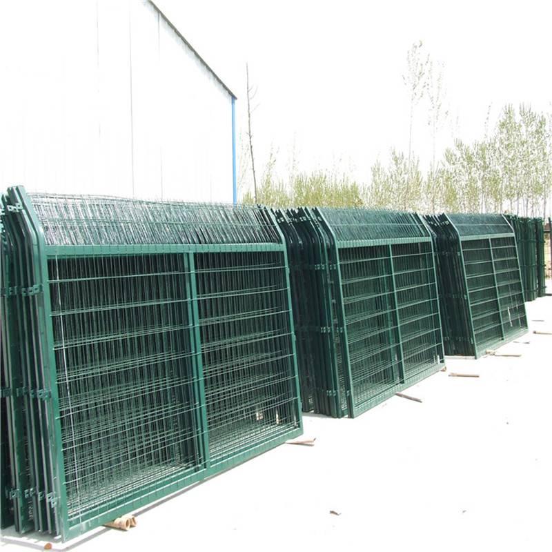 小区护栏网 各种隔离用网 框架铁丝网