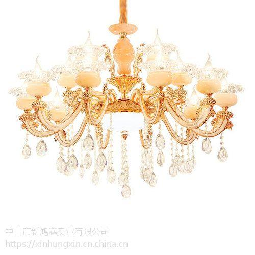 春风十里吊灯 二连浩特水晶灯饰品牌 新型布艺灯