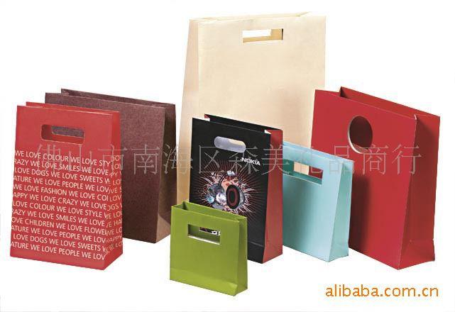礼品袋 纸袋 牛皮纸袋 专业订做 佛山南海顺德高明三水图片