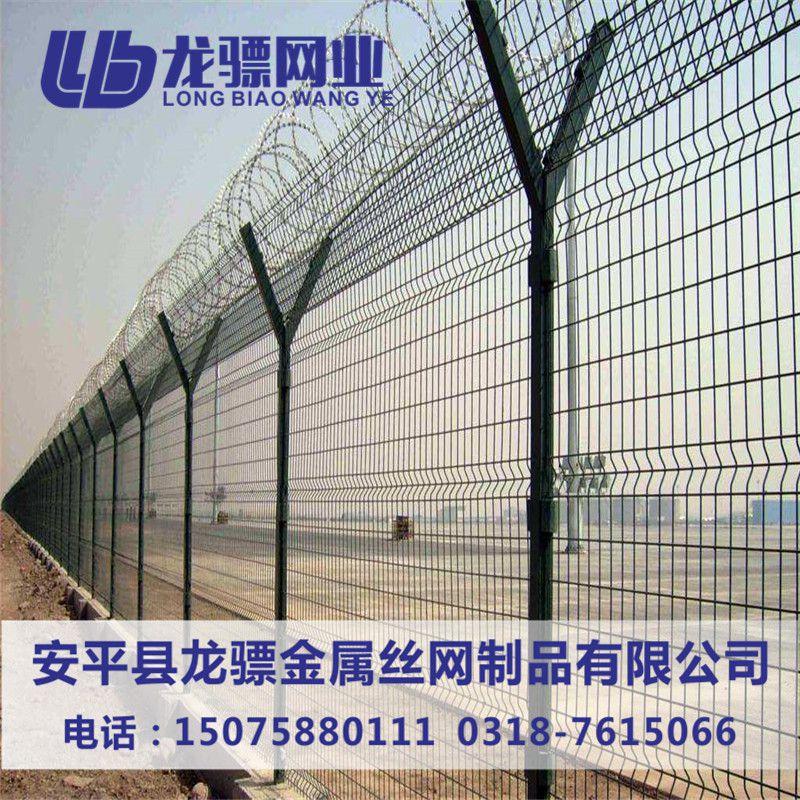 厂区护栏网 车间护栏网 防盗铁丝网