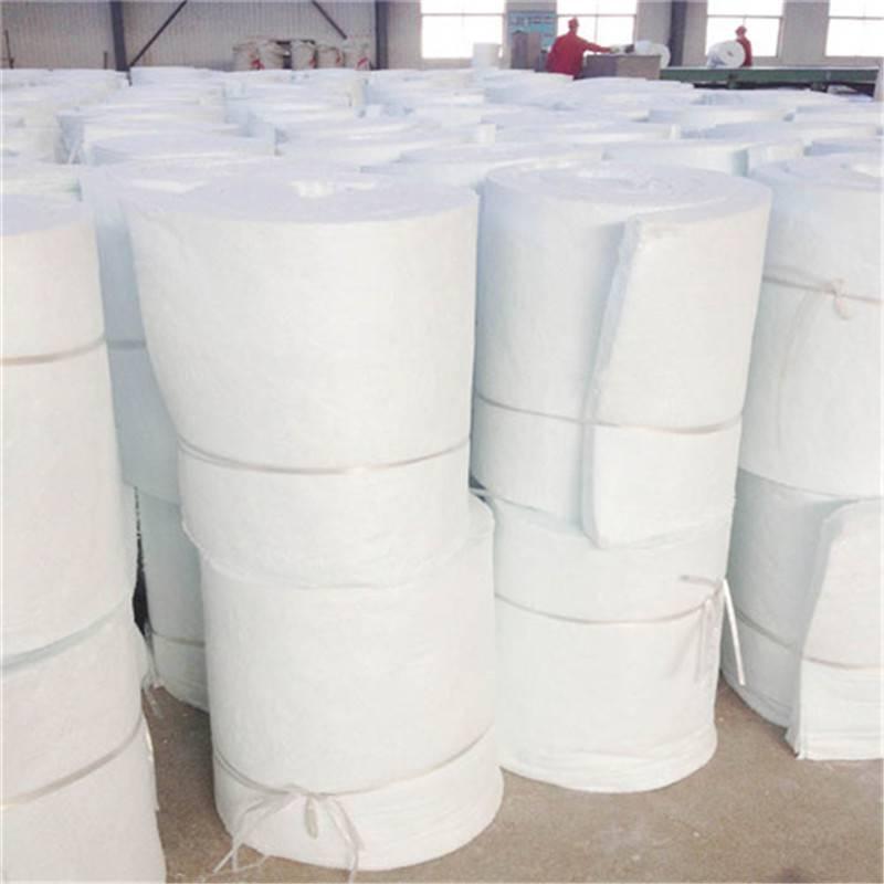 品质优良硅酸铝甩丝毯 10公分硅酸铝卷毡