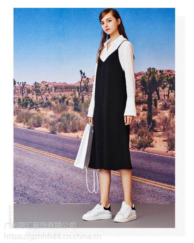 洛可可18年春装时尚品牌女装品牌折扣 库存尾货一手货源分份批发
