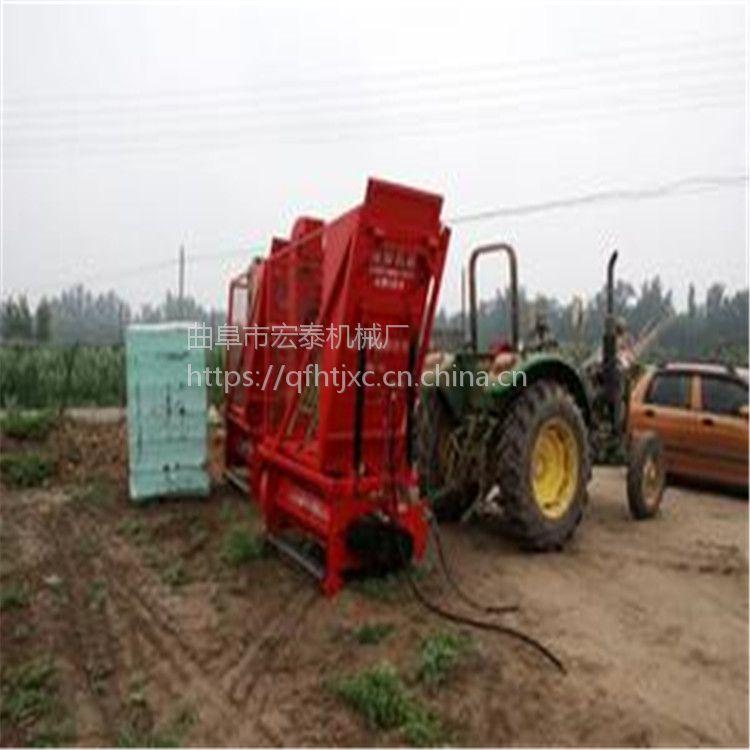 青储秸秆回收机 背负式拖拉机带动玉米秸秆回收机直销价格
