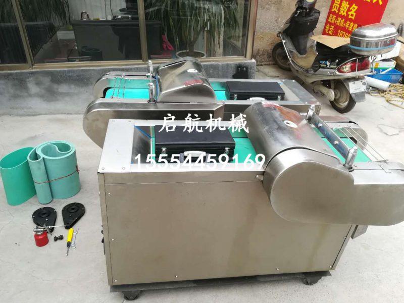 小型电动切菜机 启航660型多功能商用切菜机 小型农用红薯切片机