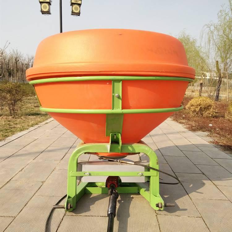 超低价 耐用快速撒肥机 750斤大容量大面积撒播机 草场牧场播种施肥机