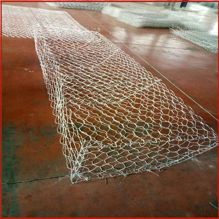 堤坝抗冲刷格宾网 格宾网挡土墙是什么 镀高尔凡雷诺护垫厂家