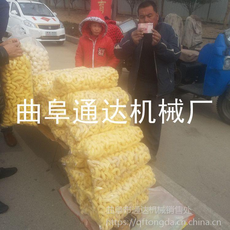 生产通达牌 玉米膨化机 汽油车载式膨化机定做 空心棒江米棍机报价