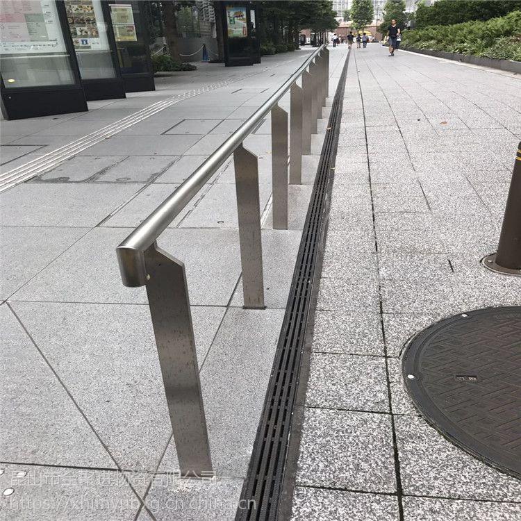 金裕 精品室外单刀不锈钢栏杆商场用 厂家栏杆立柱样式齐全