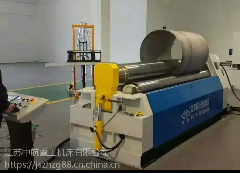 中航重工非对称不锈钢卷板机 多功能卷板机生产厂家