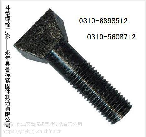供应发黑斗型螺栓|毛栓|定做特大热打螺栓