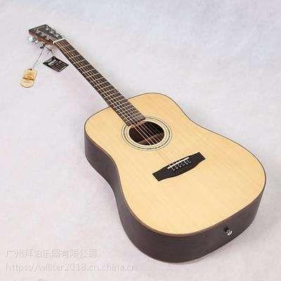 南宁 木吉他批发 吉他工厂 品牌Willter威尔特