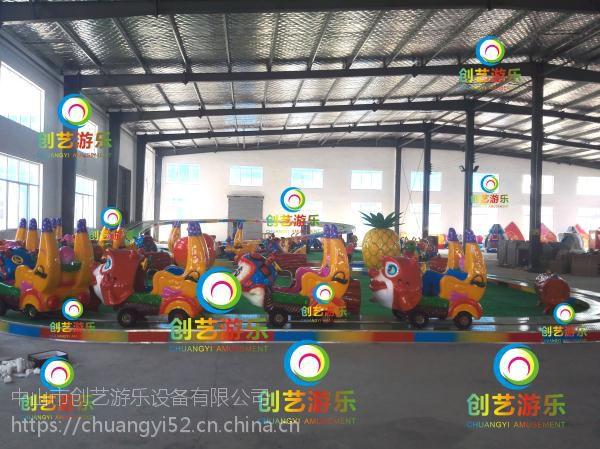 沈阳公园2017新款轨道香蕉火车香蕉环车欢乐锤游艺设施厂家火爆热销