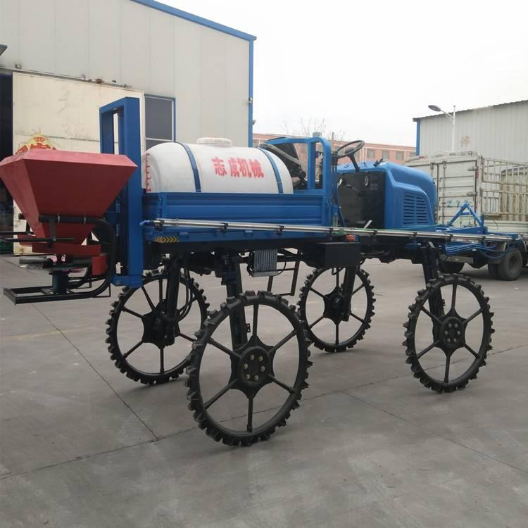厂家生产农田大型喷雾器自走式杀虫喷药机500L柴油打药车