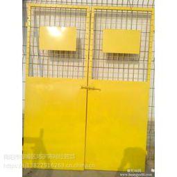 鸿宇筛网基坑防护施工电梯安全门定做