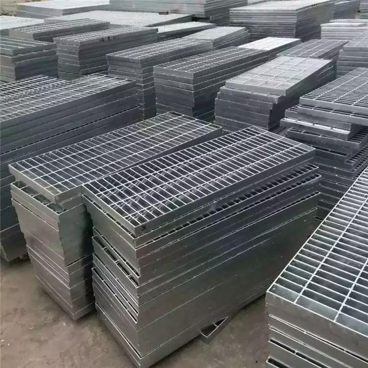 平台钢格板重量 浙江排水沟盖板 专用钢格板生产厂家