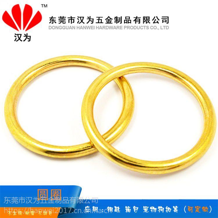东莞不锈钢挂钩厂家大量生产铜钥匙圈 不锈钢钥匙圈非标定做