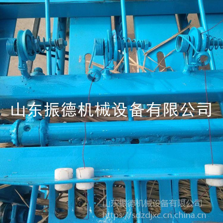 振德促销 自动锁头电动草帘机 蔬菜大棚草帘机 小麦秸秆编织机