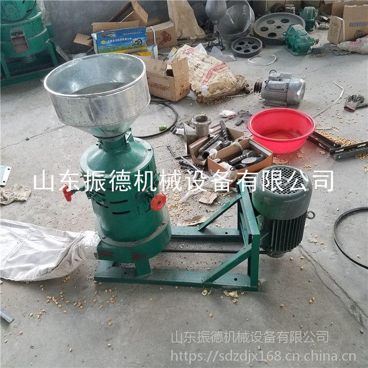粮食脱皮碾米机 砂棍玉米制糁机 多功能碾米机 振德畅销