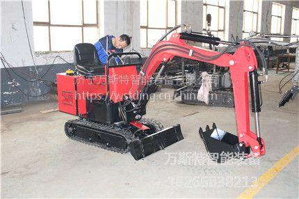 广东南雄履带挖掘机什么牌子质量好 万斯特小型挖掘机质量保证