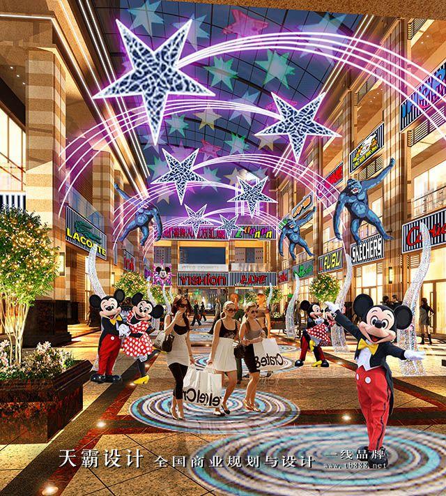 怀化步行街设计项目可找广东天霸设计公司改造换新颜