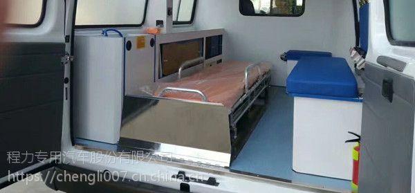 蒲城县全顺V348救护车 长轴高顶监护型救护车