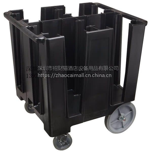 """CAMBRO DC1225 12.2""""盘碟车,脚轮种类25.4cm2个方便轮,12.7 cm2个转向"""