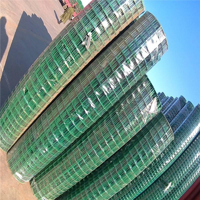 果园围栏护网 养殖绿色围栏网 浸塑防护网